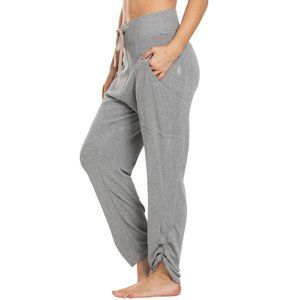 NWT FREE PEOPLE MOVEMENT READY GO RUCHED PANTS S